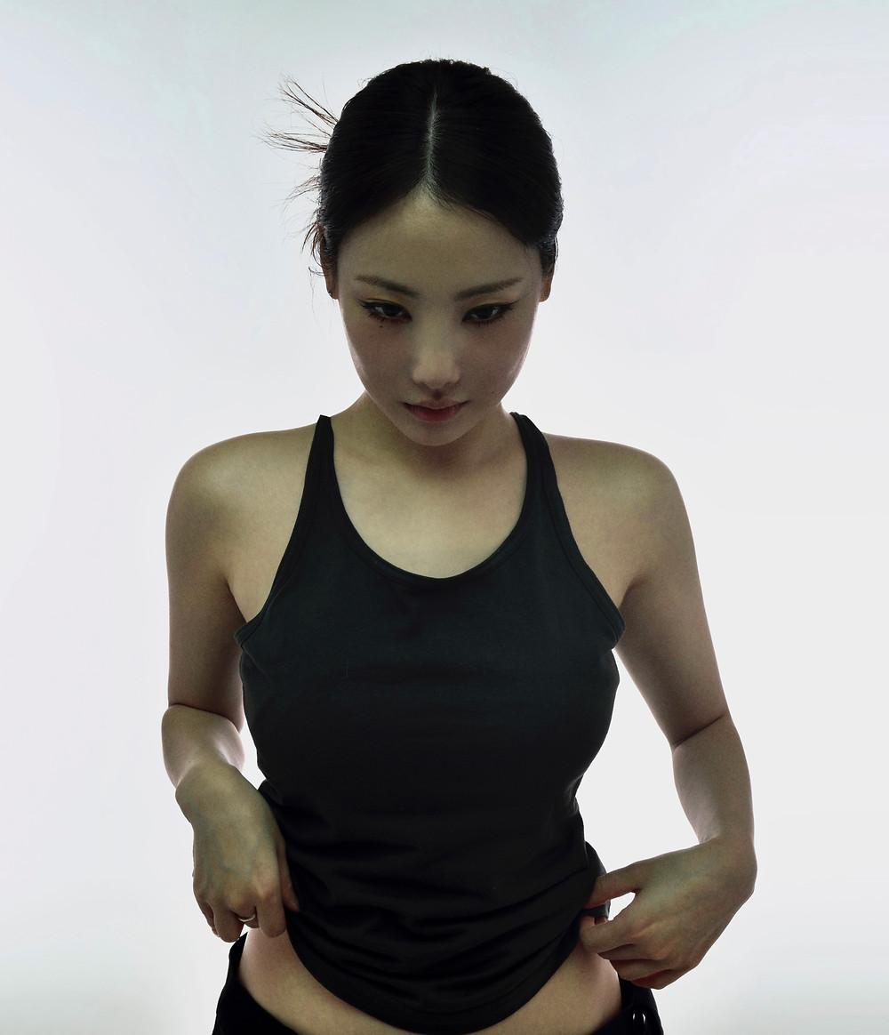 Foto da cantora sul-coreana youra