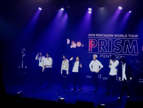 LIVE REVIEW: Pentagon World Tour: 'PRISM', @ Tropical Butantã, São Paulo