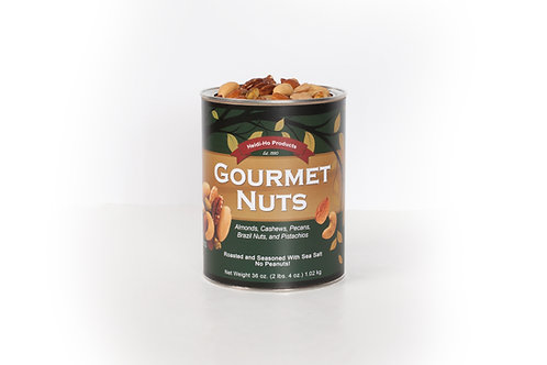 Gourmet Nuts- Individual Can (2.25lb/can) $25.00 +$10.50 S&H