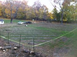 Deer Fence Install Nov 2016