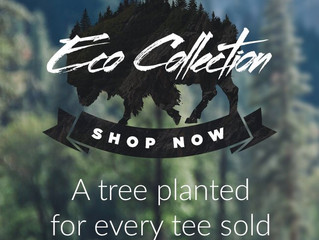 Design By Humans Eco Collection: Buy A Tee, We Plant A Tree!