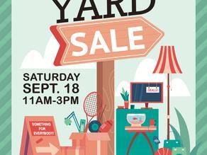 2021 Fall Yard Sale