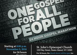 Gospel Marathon (November 5, 2018)