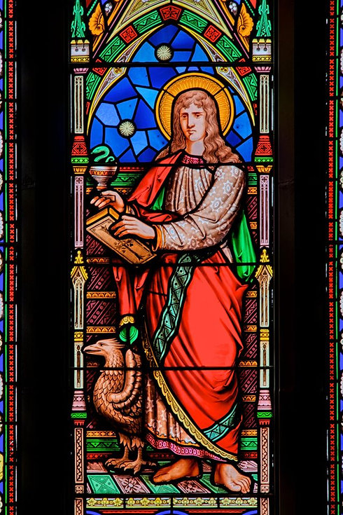 Stained Glass of St. John's
