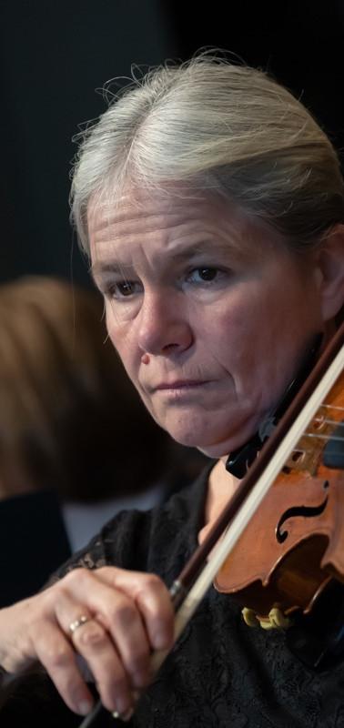 Cornelia Messerli-Ott, Violine (Foto Giancarlo Cattaneo)