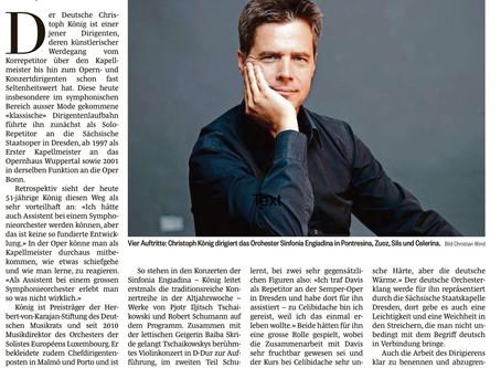 """""""In der Musik sucht er nach der """"deutschen Wärme"""""""
