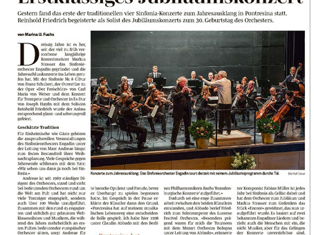 Kritik Konzerte SINFONIA 2015