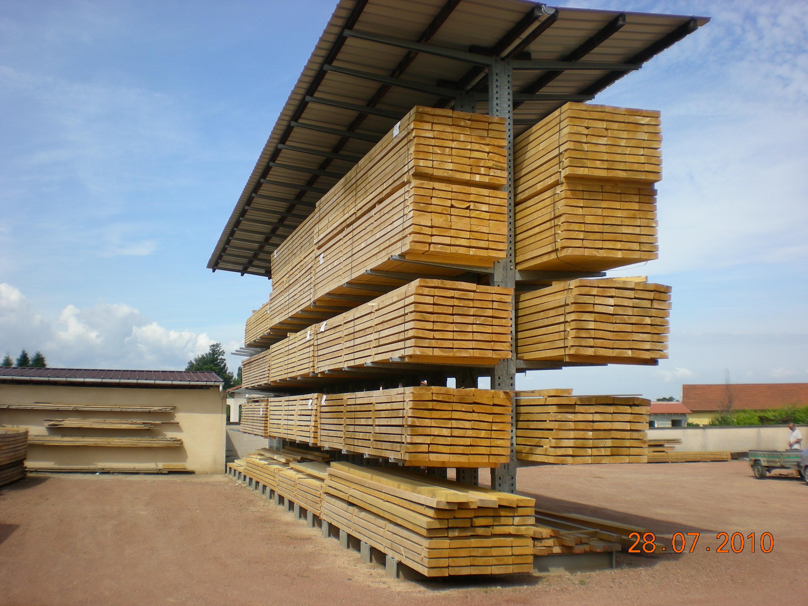 Le stockage du bois