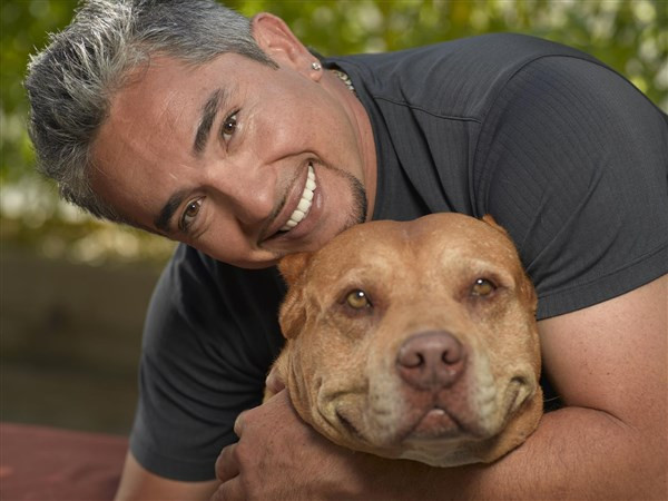 Cesar Milan and Daddy