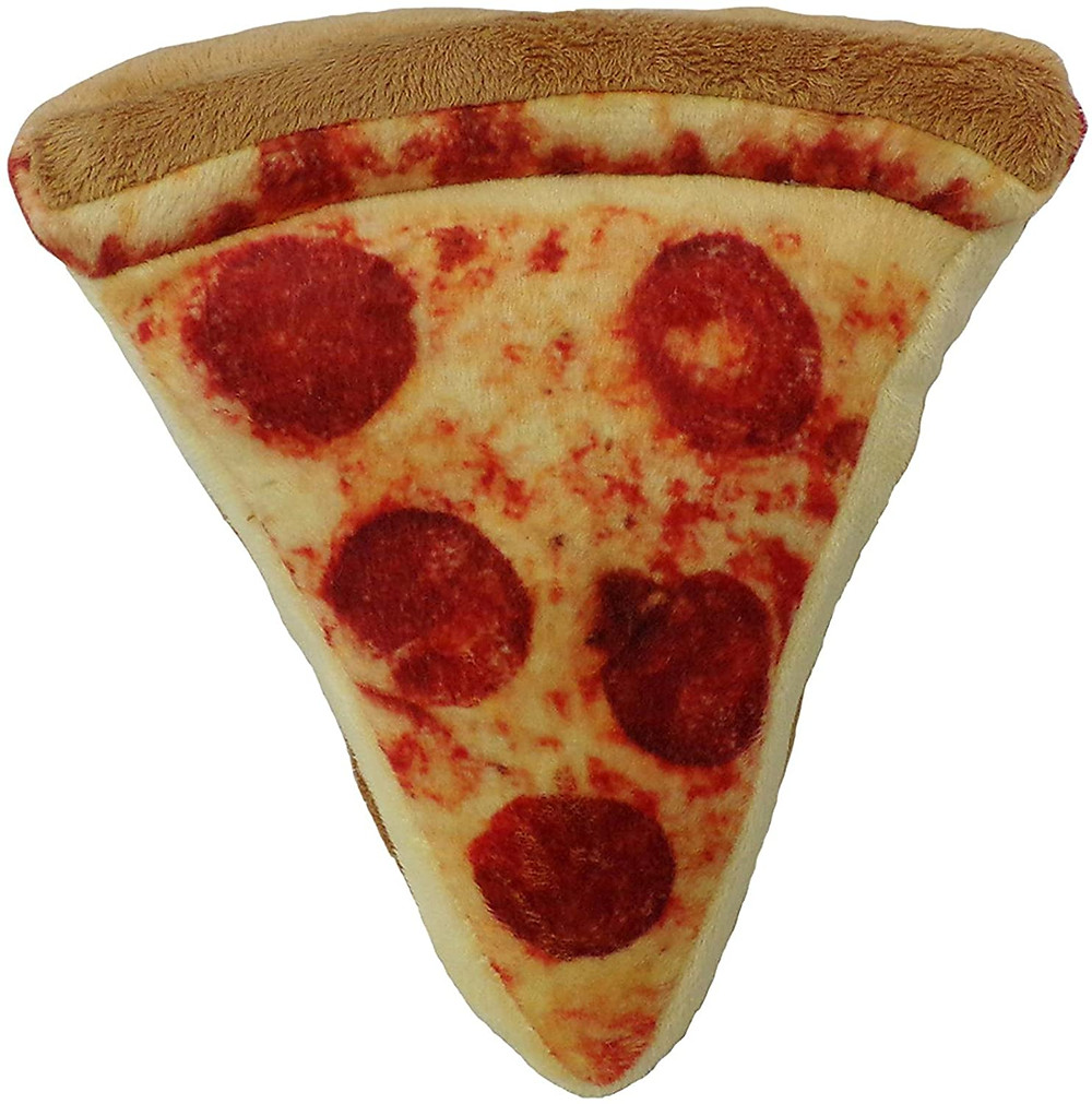 Realistic Pizza Dog Toy