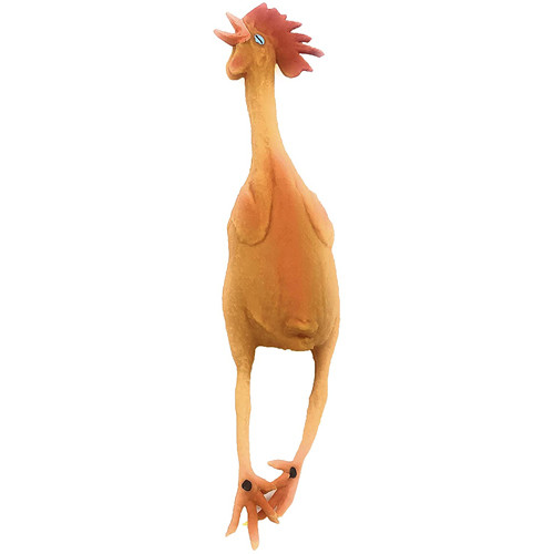 Squeaky Rubber Chicken Dog Toy