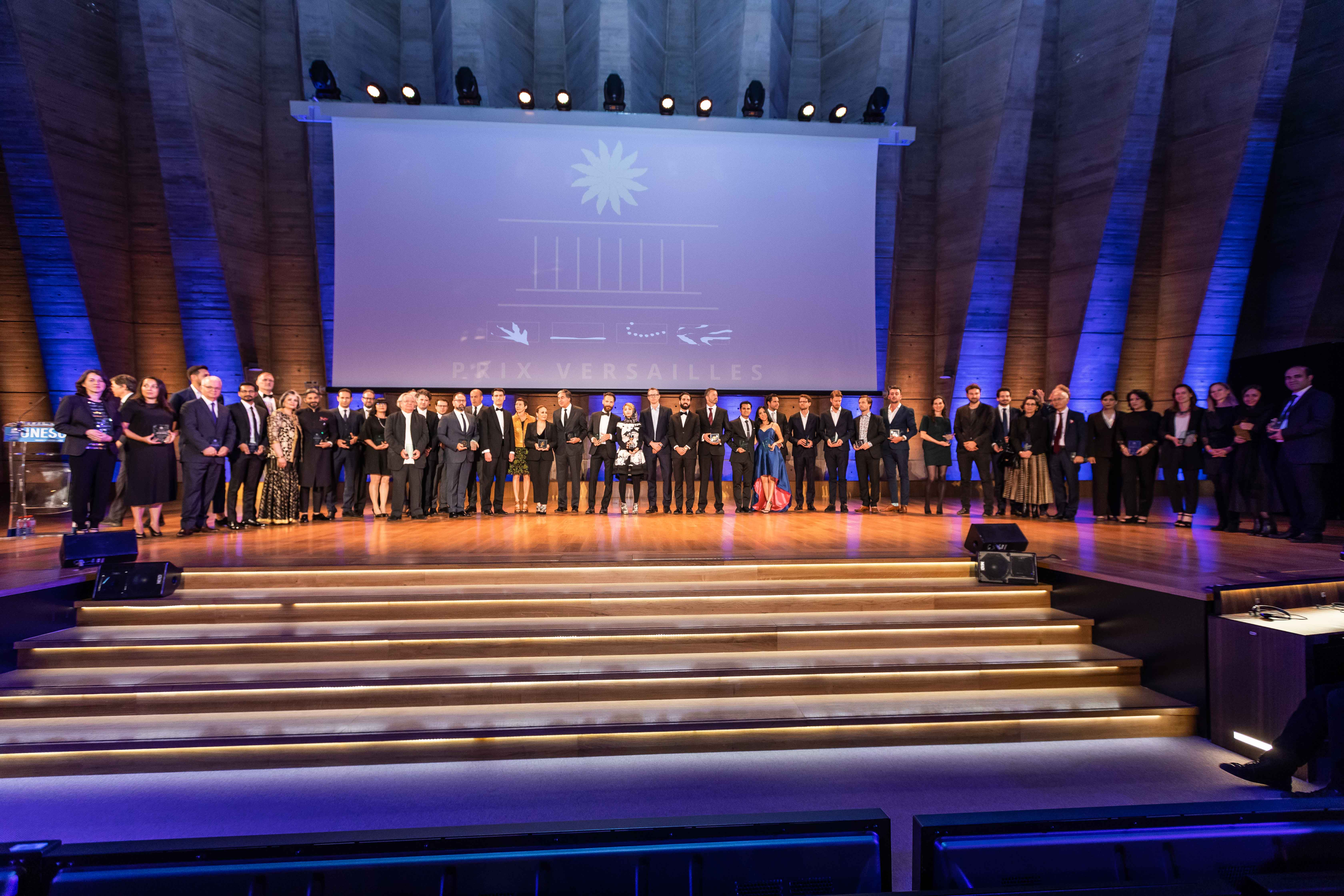Lauréats du Prix Versailles