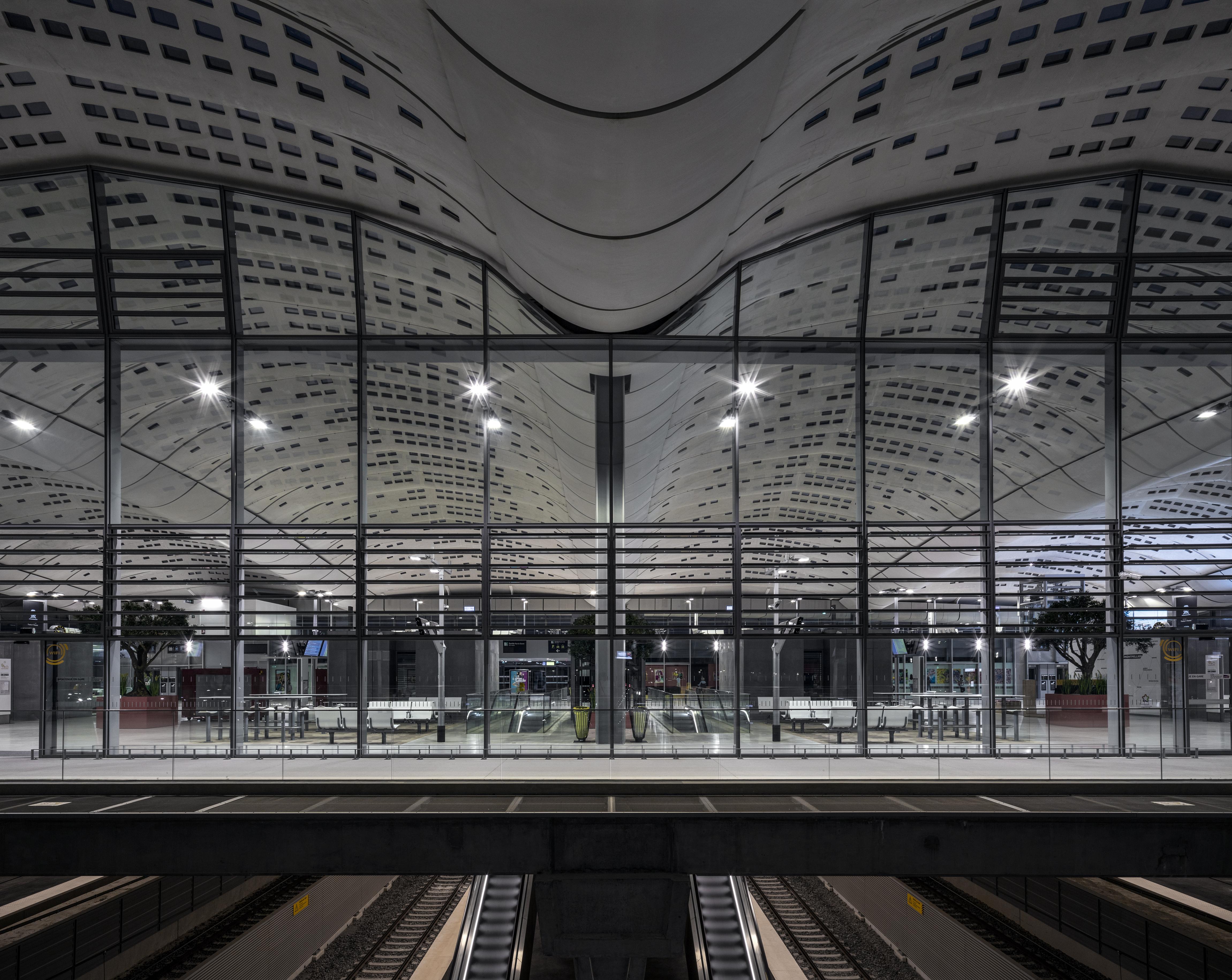 Interior Passenger Stations