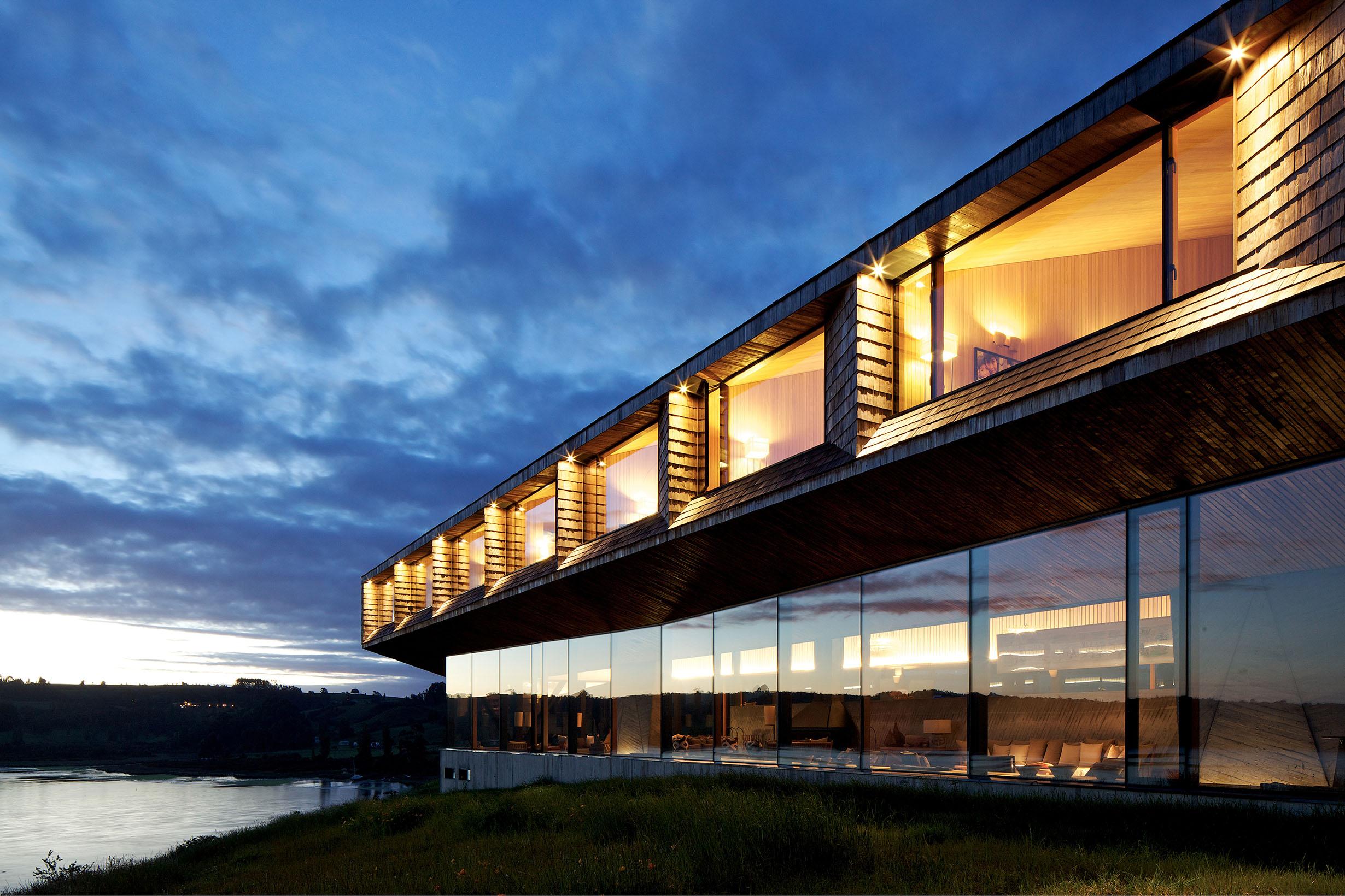 العمارة الخارجیة للفنادق