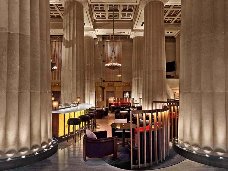 العمارة الداخلیة للمطاعم