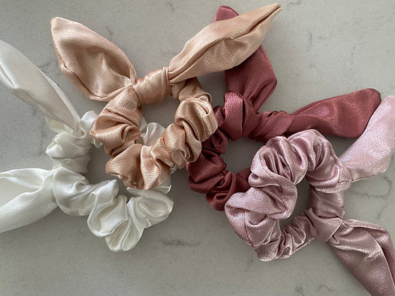Luxury Silk Bow Hair Bands