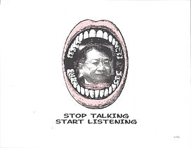 PoliticalSatire_StopTalking-StartListeni