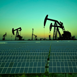 Clean power energy concept,Oil pump with