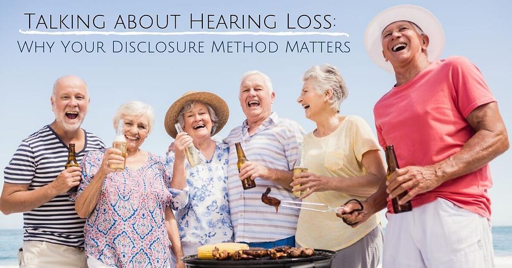 hearing loss disclosure methods