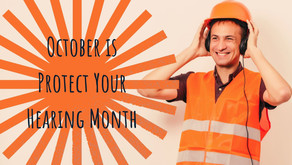 October is Protect Your Hearing Month