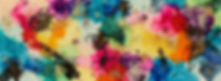 bright colorful vibrant abstract art