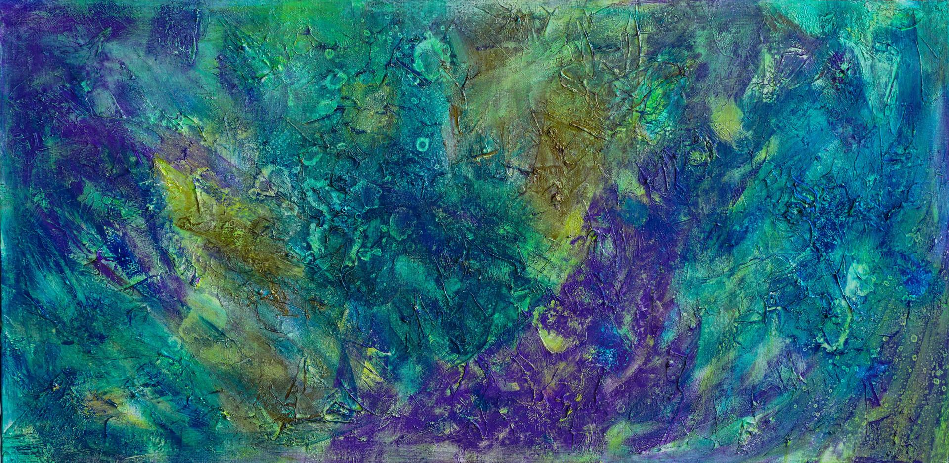 Celeste #6 | original art abstract mixed media