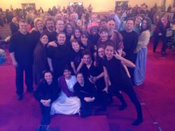 Christmas Production Group Photo