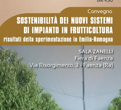 Sostenibilità impianti in frutticoltura