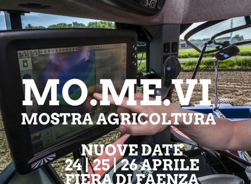 Mostra Agricoltura Faenza (MAF) e Momevi si spostano in Aprile: 24-26 Fiera di Faenza