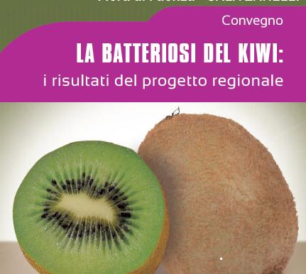 LA BATTERIOSI DEL KIWI: i risultati del progetto regionale