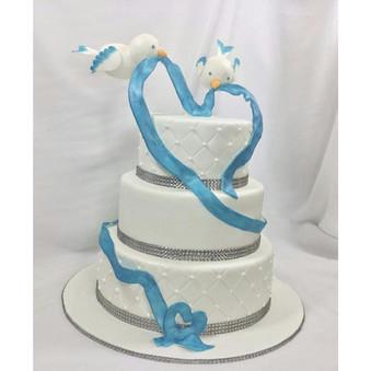 #weddingcake #lovebirds
