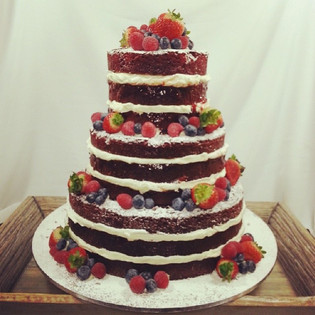 Red velvet #nakedcake with berries.jpg