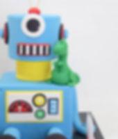 _ ROBOT __A robot and his pet!
