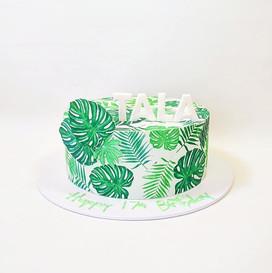 _ HAWAIIAN ___I love how this cake turne