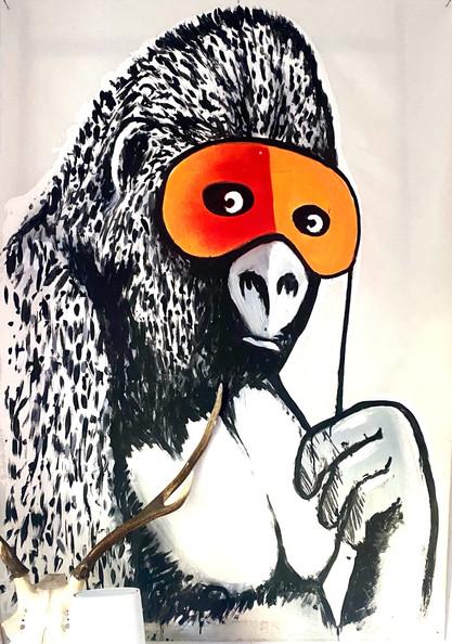 Banksy Gorilla