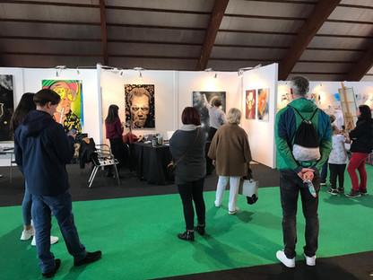 Workshop und live painting Stadthalle