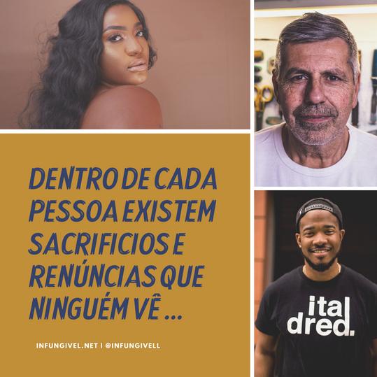 DENTRO DE CADA PESSOA EXISTEM SACRIFICIO
