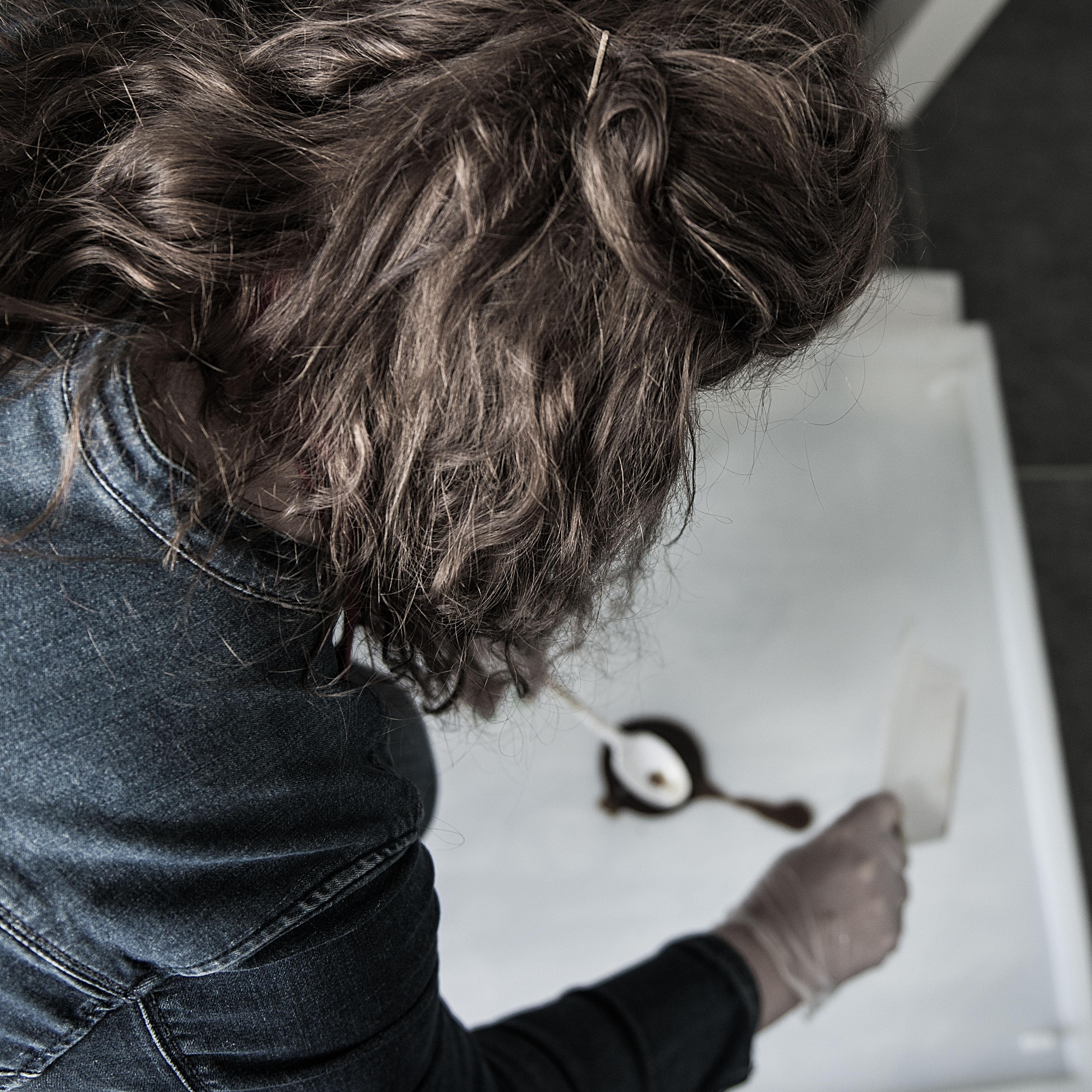Me, casting a  bowl