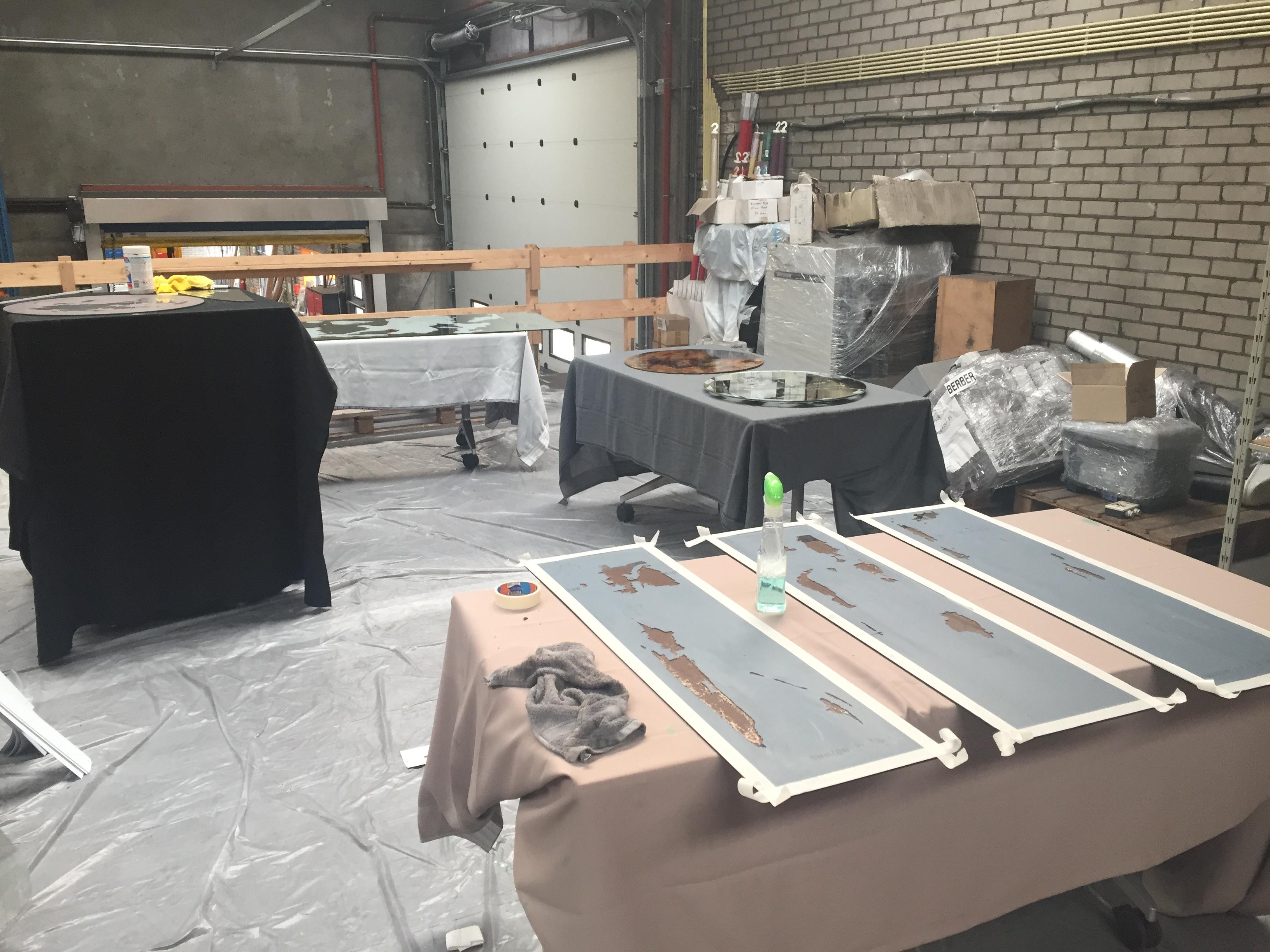 My workshop in 't Harde