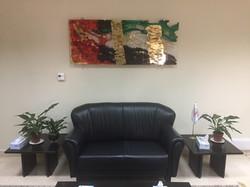 UAE Flag in office
