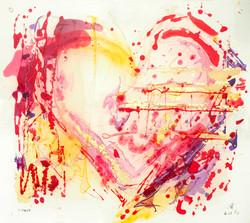 Heart III flip side SOLD