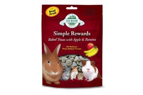 Oxbow Simple Rewards Apple & Banana