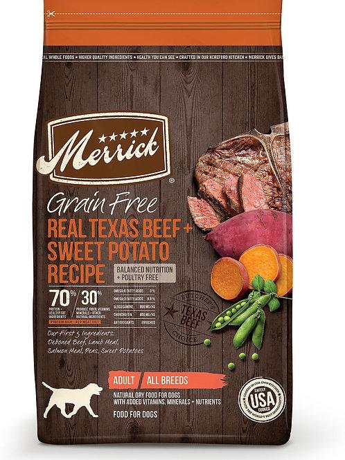 Merrick Real Texas Beef & Sweet Potato