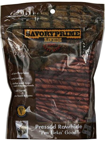 Paw Lickin' Good Beef Pressed Rawhide 100 Pack