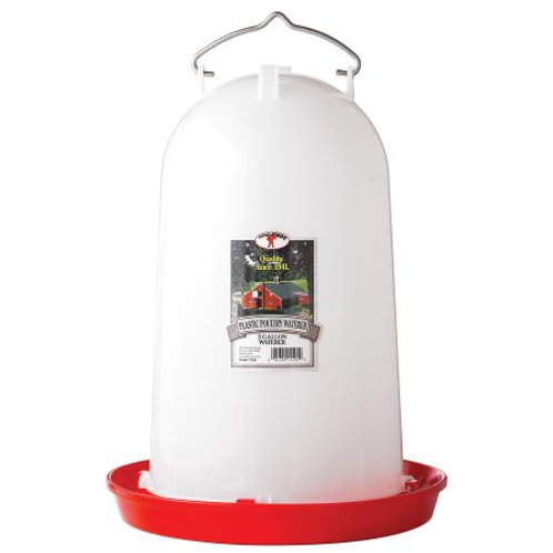 Plastic Poultry Waterer 3 Gallon