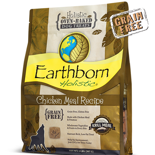 Earthborn Holistic Grain Free Chicken Treats