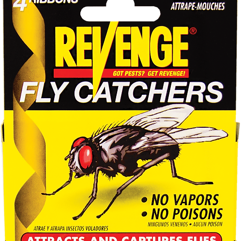 Revenge No Escape Fly Ribbons 4 Pack