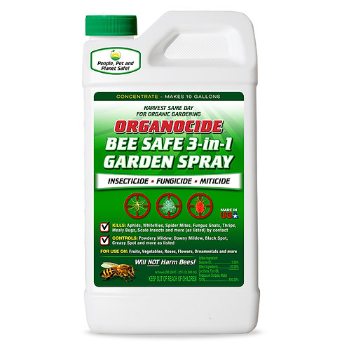 Organocide Bee Safe 3 In 1 Garden Spray
