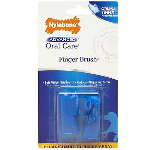 Nylabone Oral Finger Brush