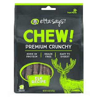 Etta Says Chew! Elk Recipe